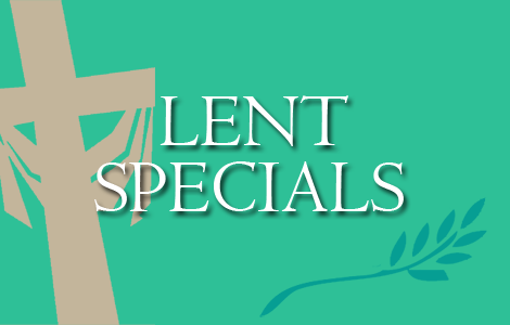 Barone's Pizza of Glen Ellyn Lent Specials