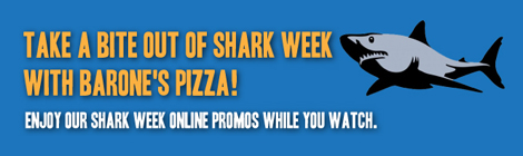 Take a Bite Out of Sahrk Week with a Brones's of Glen Ellyn Pizza